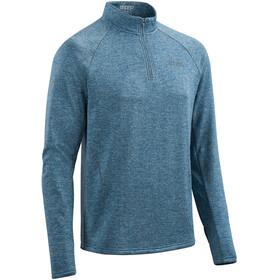 cep Winter Run Maglietta a Maniche Lunghe Uomo, blu